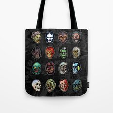 Horror Movie Monster Mas… Tote Bag