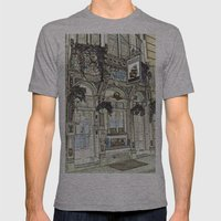 The Ship Public House London Mens Fitted Tee Athletic Grey SMALL