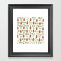 Kiwi And Papaya Framed Art Print