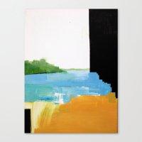 Glitch Croix Canvas Print