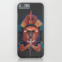 Red Fire Monkey iPhone 6 Slim Case