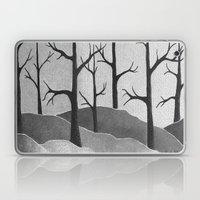 Abstract Forest Scene Laptop & iPad Skin