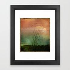 Velvet Moon Framed Art Print