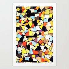 Mosaik - for iphone Art Print