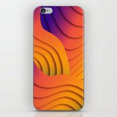 Bold Waves iPhone & iPod Skin