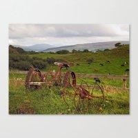 At Sgriob-Ruadh Farm Canvas Print