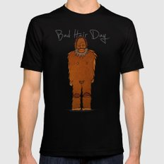 bad hair day no:4 / Bigfoot SMALL Black Mens Fitted Tee