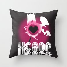 ♥ HEADPHONES Throw Pillow