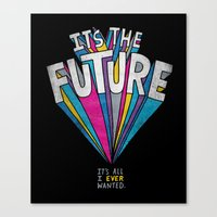 The Future Canvas Print
