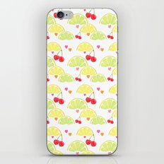 summer fruit cocktail iPhone & iPod Skin