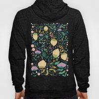 Flower Pattern Hoody
