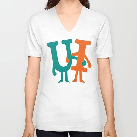 You and I V-neck T-shirt