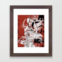 AT-AT Driver And Navigat… Framed Art Print