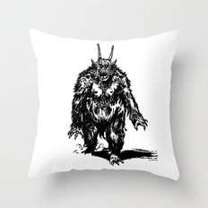 La Créature/The Creature Throw Pillow