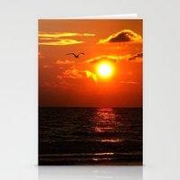 Madeira Beach Sunset 1 Stationery Cards
