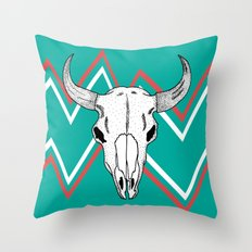 The Smell Of Death Throw Pillow