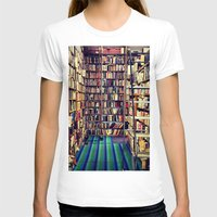 books T-shirts featuring Books by Whitney Retter