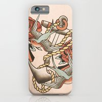 anchor iPhone & iPod Cases featuring Anchor by Chase Kunz