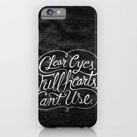 iPhone & iPod Case featuring Clear Eyes, Full Hearts, Can't Use by Chris Piascik