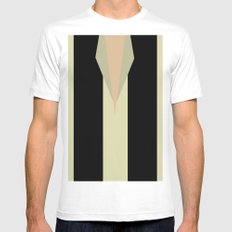 The Pilot Mens Fitted Tee White SMALL
