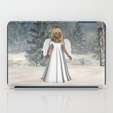 Little Winter Angel iPad Case
