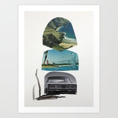 I'll take you there as soon as I hit the big time, promise Art Print