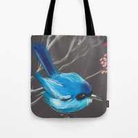 Little Blue Fairy Tote Bag