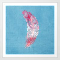 Feather. Art Print