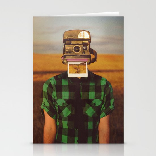 I See What You See Stationery Card