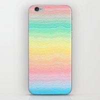 Rainbow Colours iPhone & iPod Skin