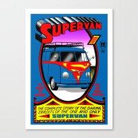 Supervan Canvas Print