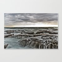 Stormy sea's Canvas Print