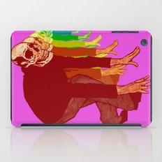 The Racing Rainbow Skulls iPad Case