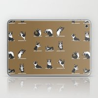 Boston Terriers Yoga Laptop & iPad Skin