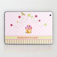 Cupcake Love Laptop & iPad Skin