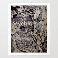 Peeling: Psychic Art Print