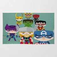 Avengers 2 Fan Art Rug