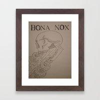 BONA NOX Framed Art Print