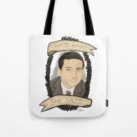 Michael Scott Tote Bag