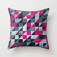 Geo3075 Throw Pillow