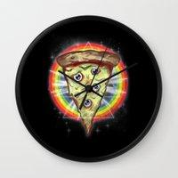 Insanity Slice Wall Clock