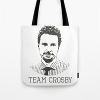 Team Crosby Tote Bag