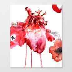 Break your Heart Canvas Print