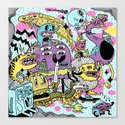 The Adventures of Rad Story Canvas Print