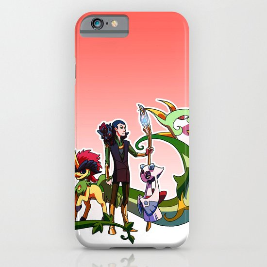 Pokemon Avengers-Loki iPhone & iPod Case