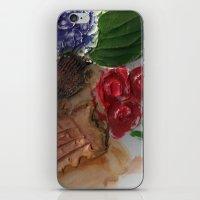 Gesso Scan iPhone & iPod Skin