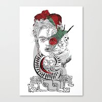 mother frida Canvas Print