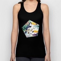 Tropical Watercolor 2 Unisex Tank Top