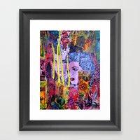 Relapse to Donnybrook Framed Art Print