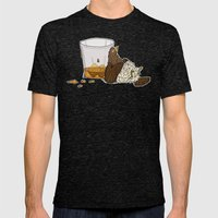 Thirsty Grouse - Colored! Mens Fitted Tee Tri-Black SMALL